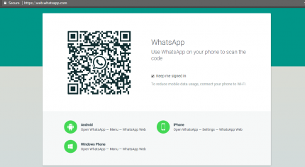 Login Whatsapp